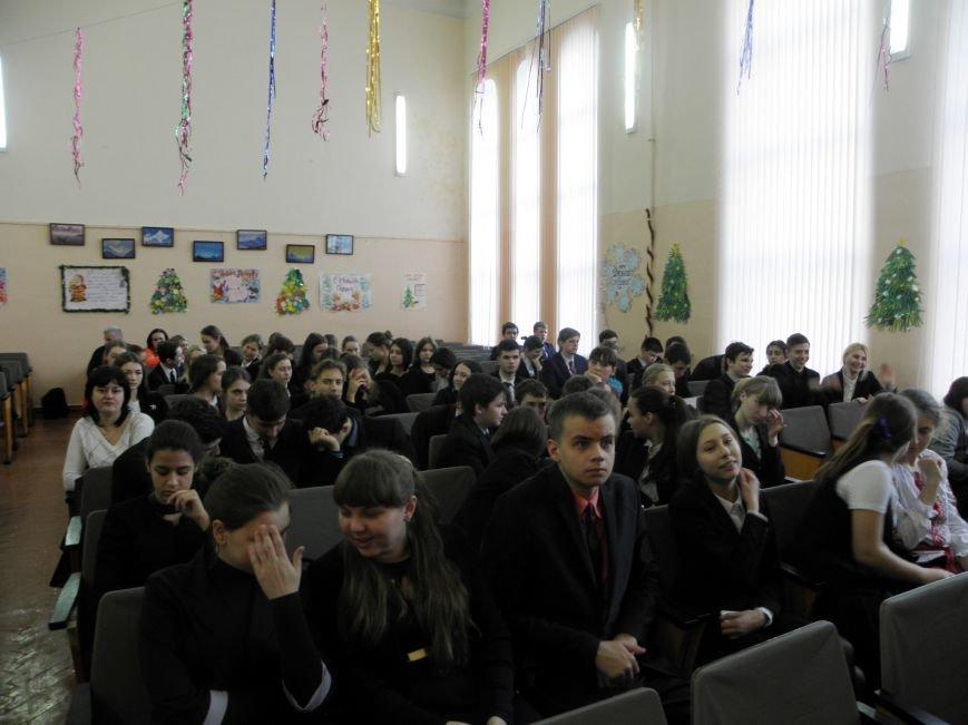 В Артемовске-Бахмуте заработала «Лига будущих полицейских» (фото) - фото 1