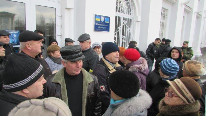 Как в Северодонецке проходила скандальная сессия горсовета (ФОТО), фото-6