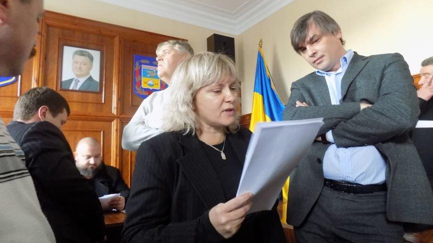 Как в Северодонецке проходила скандальная сессия горсовета (ФОТО) (фото) - фото 1