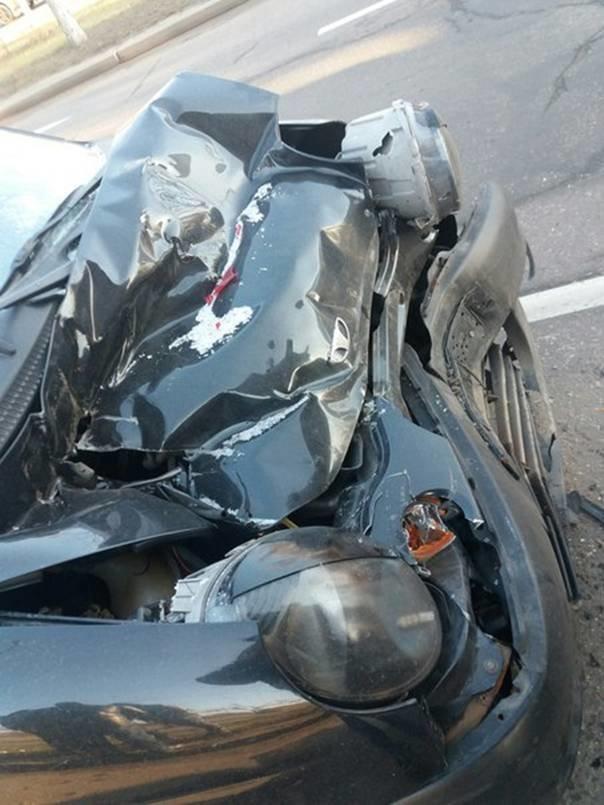 ДТП в Кременчуге: пострадали трое взрослых и 4-летний ребёнок (ФОТО) (фото) - фото 1