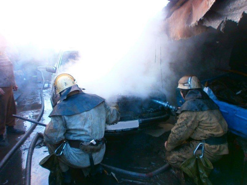 В Днепродзержинске горел