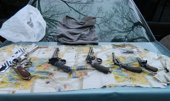 В Подольском районе полицейские задержали автомобиль с оружием и наркотиками (ФОТО) (фото) - фото 3
