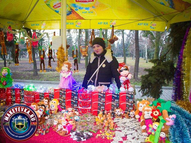 В Макеевке проходит предпраздничная новогодняя ярмарка (фото) (фото) - фото 1