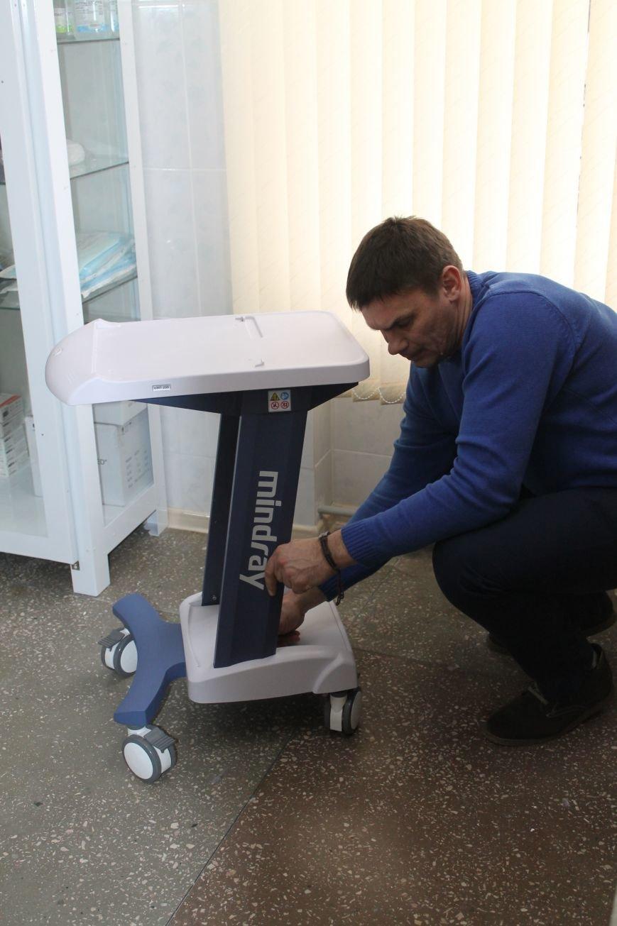 В новое отделение ЦРБ доставили оборудование (ФОТО), фото-4
