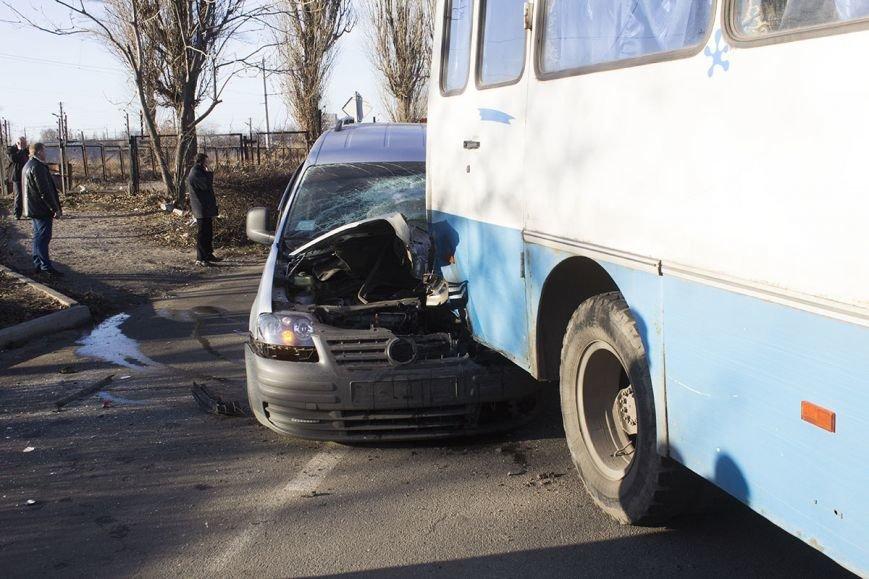 В Днепродзержинске на проспекте Юбилейном произошло ДТП с участием легкового авто и автобуса, фото-3