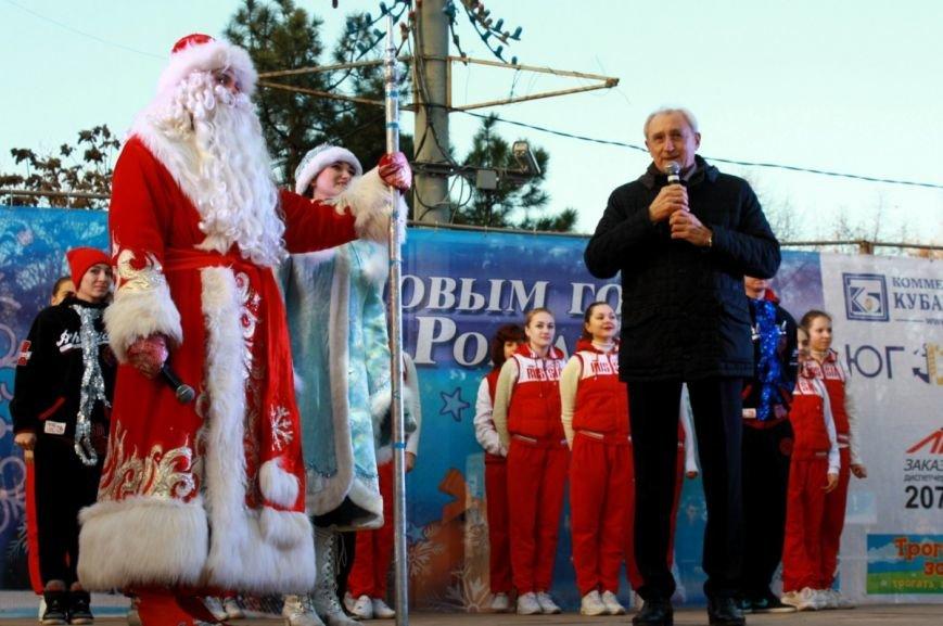 В Ростове-на-Дону официально открыли главную елку города, фото-4