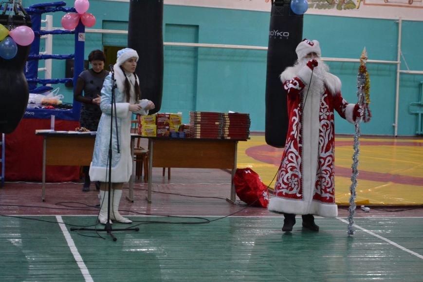 В днепродзержинской ДЮСШ № 1 прошел новогодний праздник, фото-5