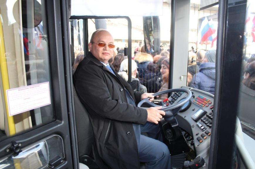 Симферополь получил современные низкопольные автобусы, оснащенные видеокамерами и микролифтами (ФОТО) (фото) - фото 7