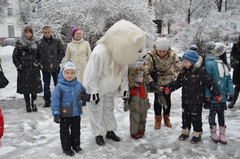 В Ульяновске прошли первые новогодние мероприятия: фотоотчет, фото-4