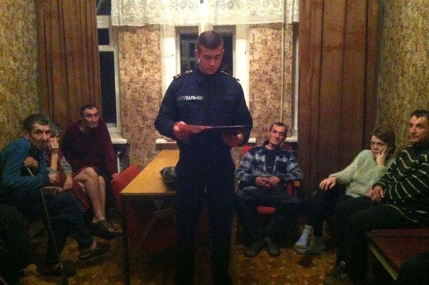 Криворожские спасатели на встрече с пенсионерами рассказали об опасности праздничной пиротехнической продукции (фото) - фото 1