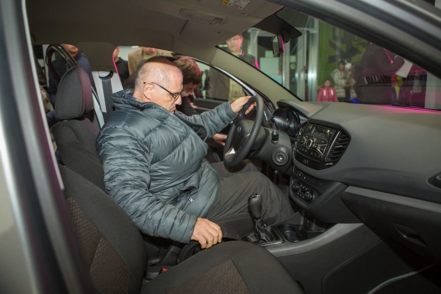 ТСС Кавказ представил новую Lada Vesta, фото-8