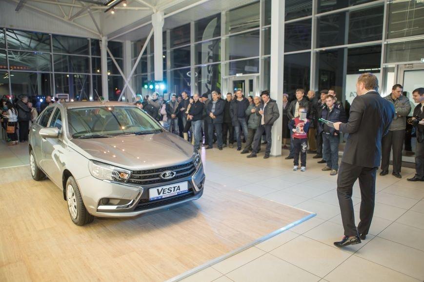 ТСС Кавказ представил новую Lada Vesta, фото-2