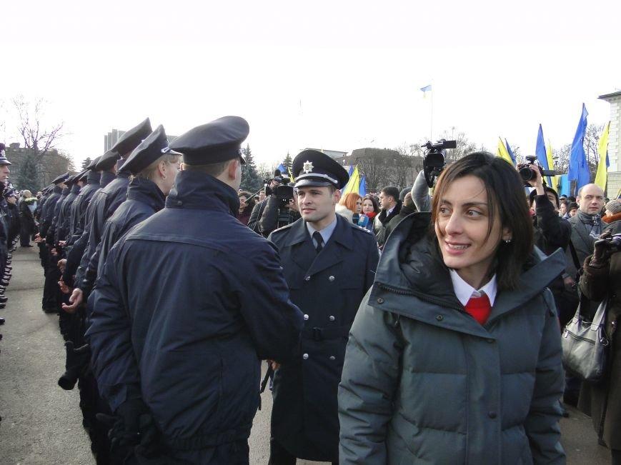 Нова поліція сьогодні присягнула служити громаді Хмельницького (Фото, відео) (фото) - фото 5