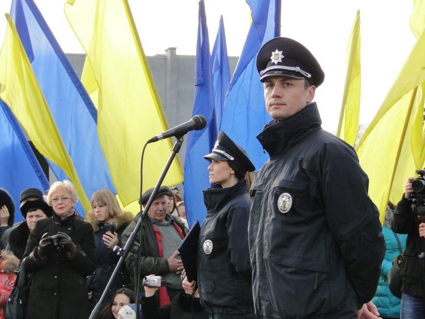 Нова поліція сьогодні присягнула служити громаді Хмельницького (Фото, відео) (фото) - фото 2