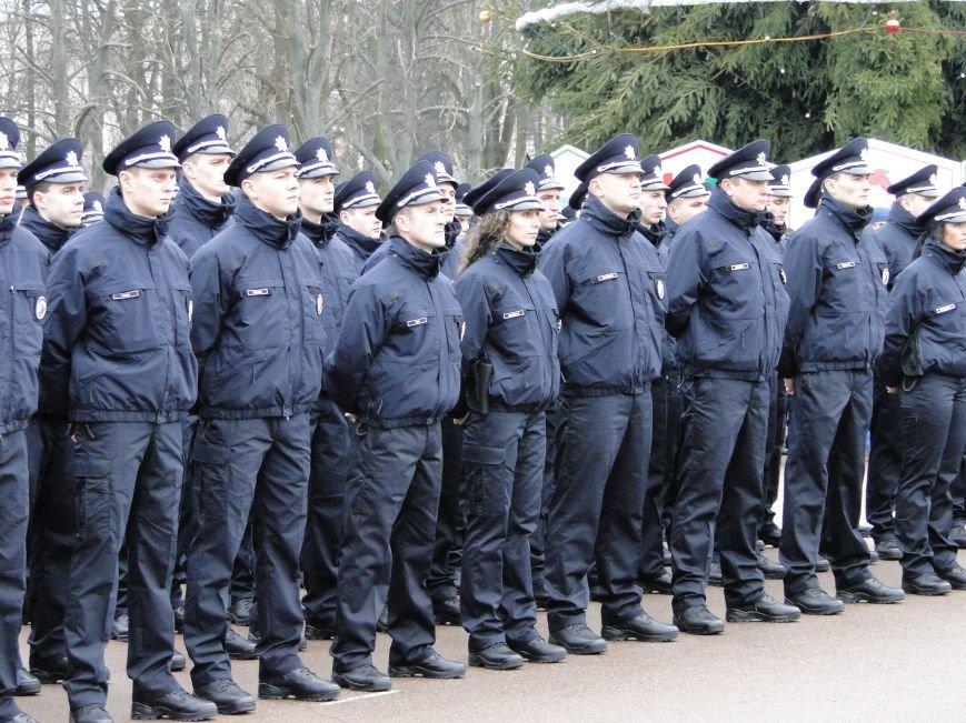 Нова поліція сьогодні присягнула служити громаді Хмельницького (Фото, відео) (фото) - фото 1