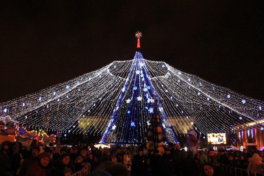 В Белгороде прошёл парад Дедов Морозов и Снегурочек, фото-10
