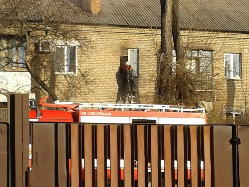 Криворожские спасатели ликвидировали пожар в одном из домов по улице Туполева (ФОТО) (фото) - фото 1