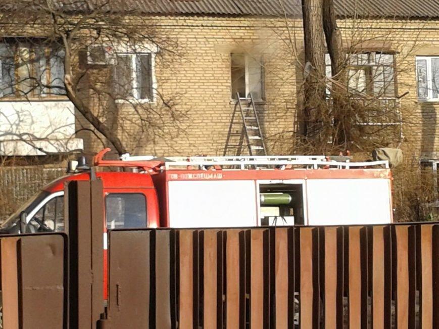 Криворожские спасатели ликвидировали пожар в одном из домов по улице Туполева (ФОТО), фото-2