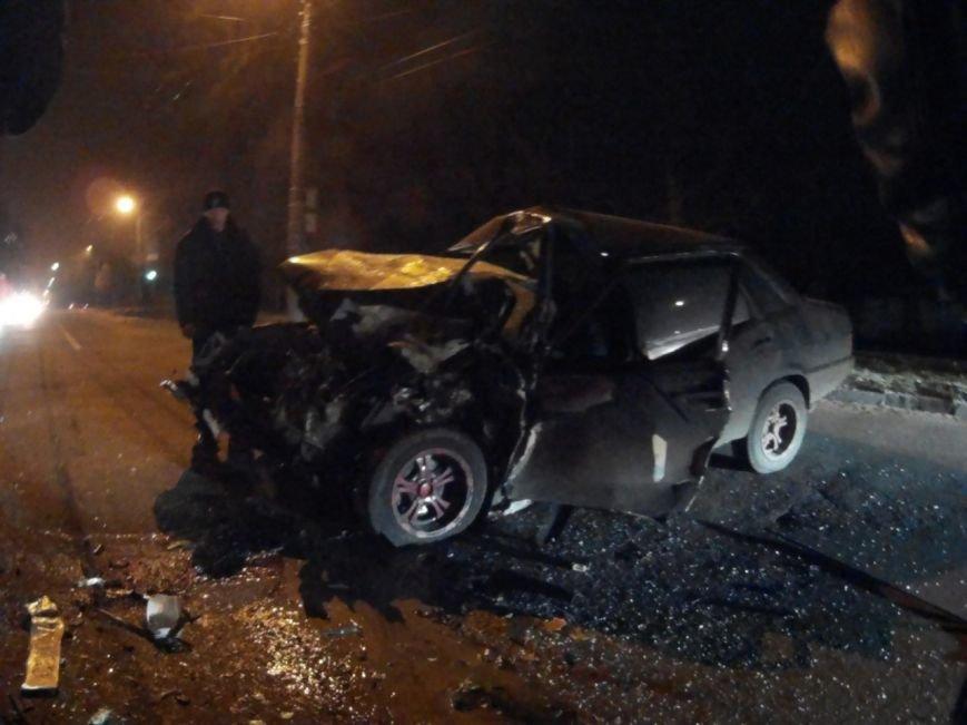 ДТП в Чернигове: машина врезалась в маршрутку, фото-6
