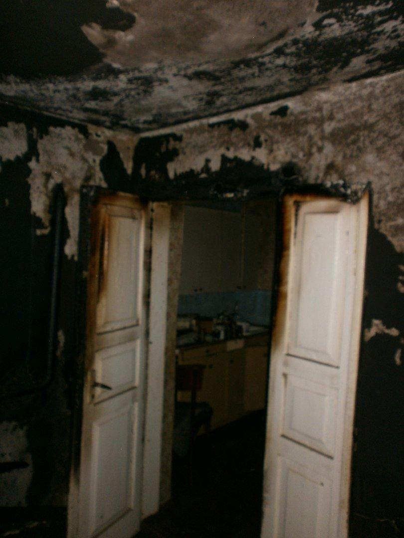 Курение в нетрезвом состоянии привело к пожару на улице Тургенева в Днепродзержинске, фото-1