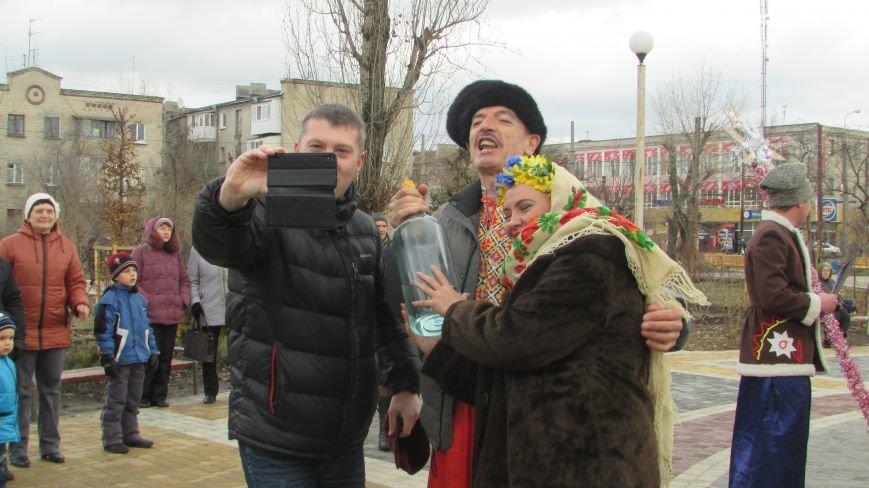 В северодонецком сквере Гоголя показали спектакль «Ночь перед Рождеством» (ФОТО), фото-3