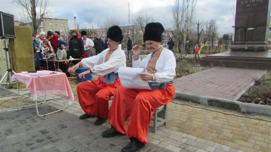 В северодонецком сквере Гоголя показали спектакль «Ночь перед Рождеством» (ФОТО), фото-7