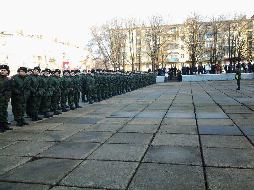 В Кривом Роге присягу на верность украинскому народу приняли 78 бойцов Нацгвардии (ФОТО), фото-3