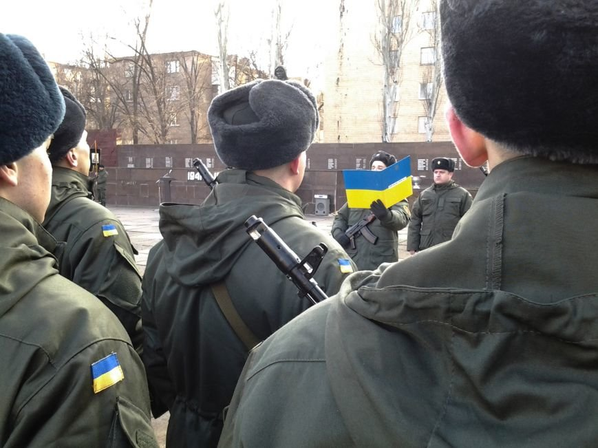 В Кривом Роге присягу на верность украинскому народу приняли 78 бойцов Нацгвардии (ФОТО), фото-6
