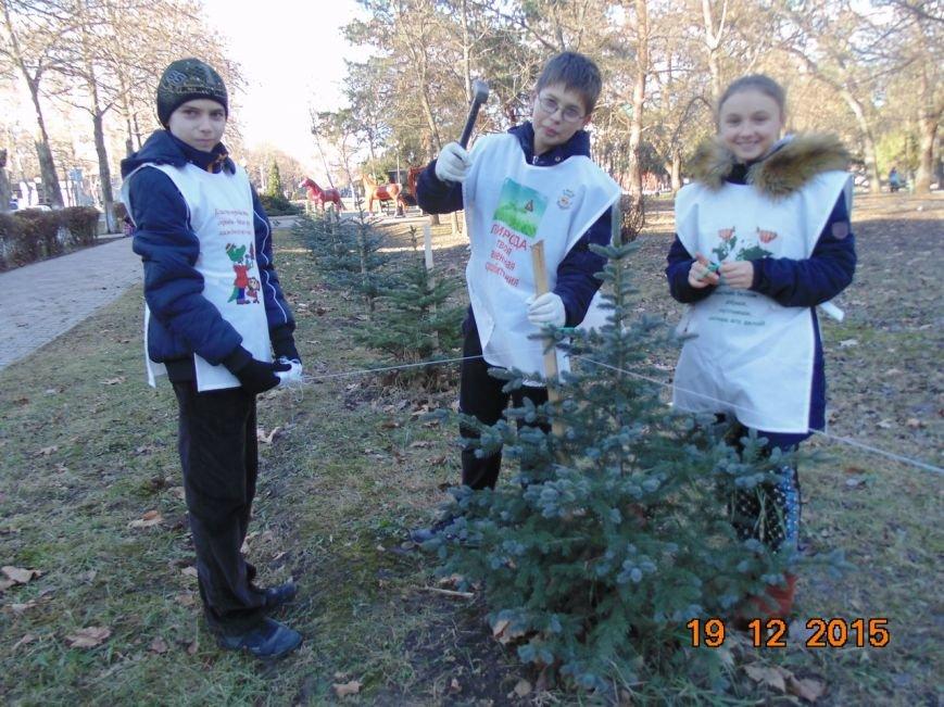 Экологическое содружество г.Белореченска поздравляет всех с наступающим новым годом (фото) - фото 1