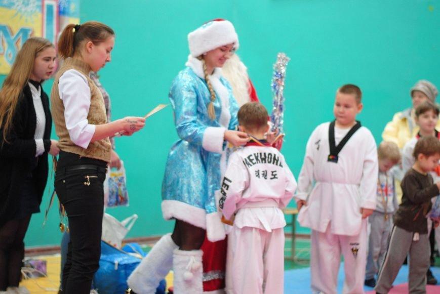 В Днепродзержинской ДЮСШ № 1 состоялся турнир по тхеквондо ВТФ