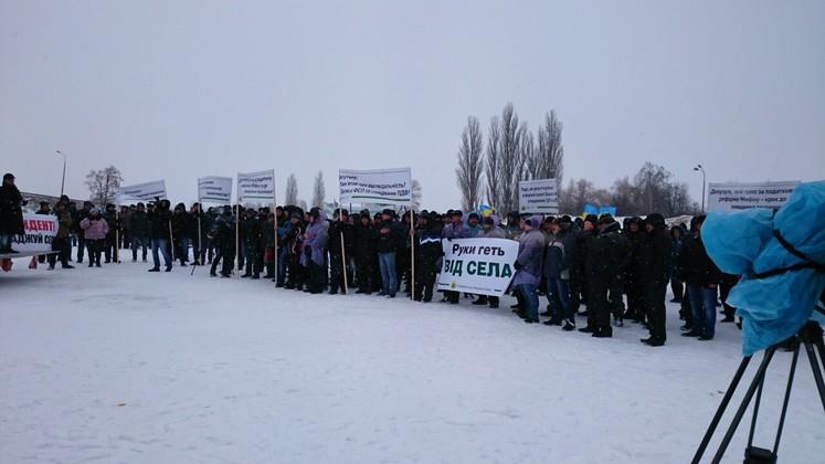 Фермеры блокируют трассу Чернигов - Киев (обновлено), фото-4