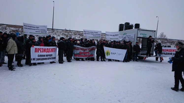 Фермеры блокируют трассу Чернигов - Киев (обновлено), фото-3