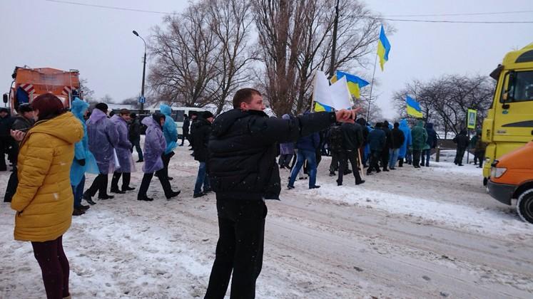Фермеры блокируют трассу Чернигов - Киев (обновлено), фото-2