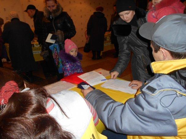 Продуктовая помощь для жителей Авдеевки (ФОТОРЕПОРТАЖ), фото-10