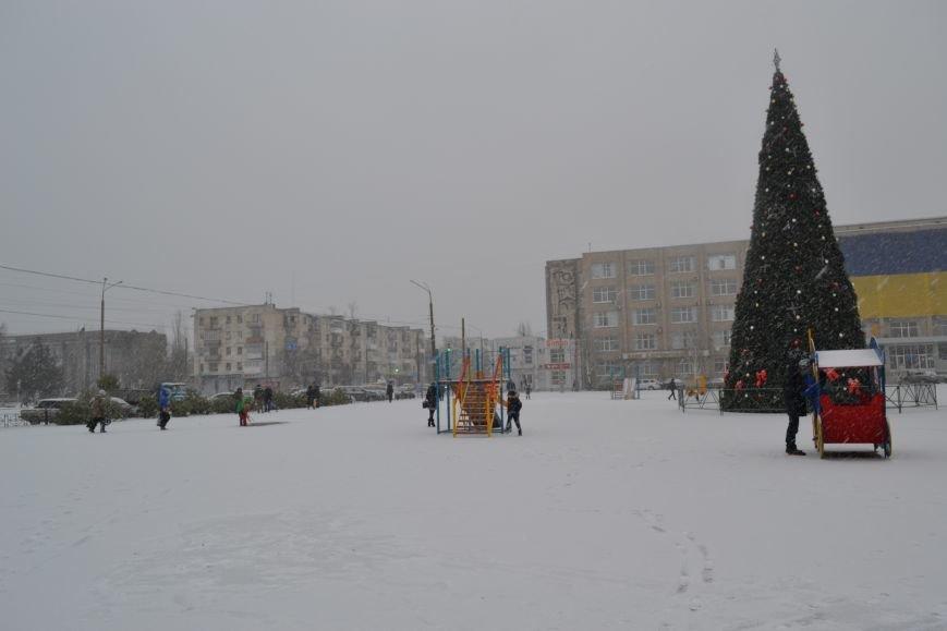 В Северодонецк пришла настоящая зима!!!, фото-4