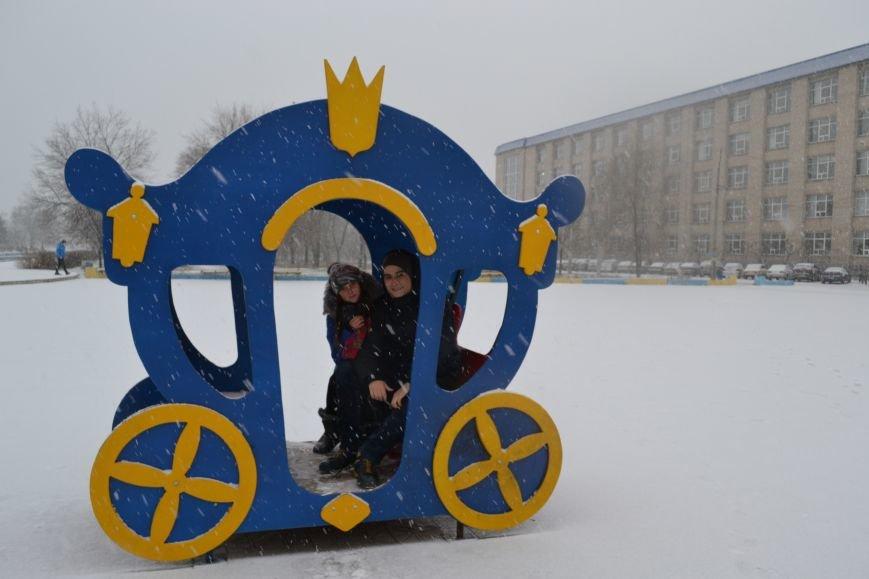 В Северодонецк пришла настоящая зима!!!, фото-6