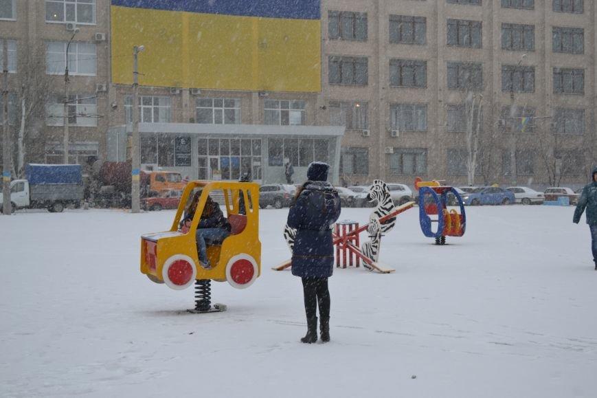 В Северодонецк пришла настоящая зима!!!, фото-1