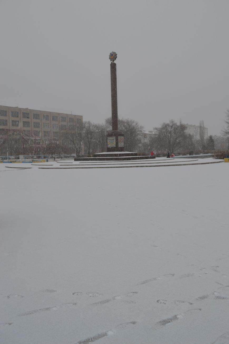 В Северодонецк пришла настоящая зима!!!, фото-5