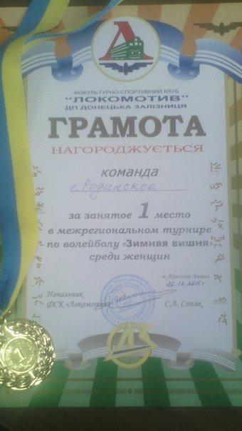 Родинские волейболисты привезли в родной город золото и серебро межрегионального турнира (фото) - фото 1