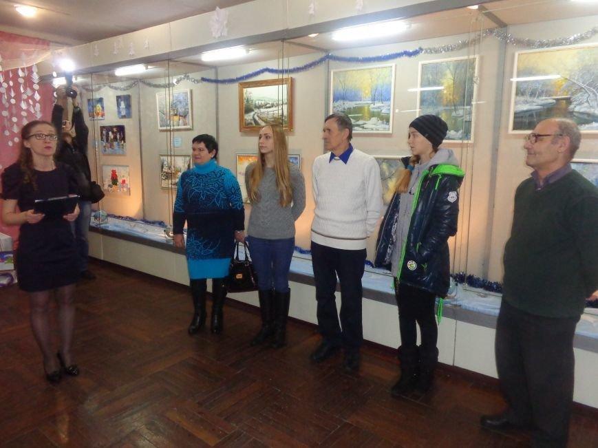 50 оттенков белого: в Красноармейском историческом музее представили зиму в работах местных художников (фото) - фото 1