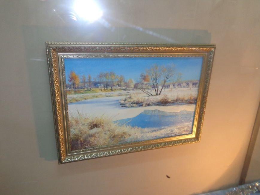 50 оттенков белого: в Красноармейском историческом музее представили зиму в работах местных художников (фото) - фото 10