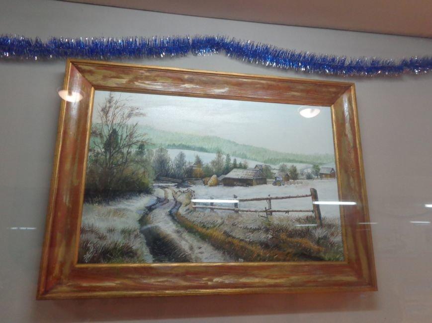 50 оттенков белого: в Красноармейском историческом музее представили зиму в работах местных художников (фото) - фото 7