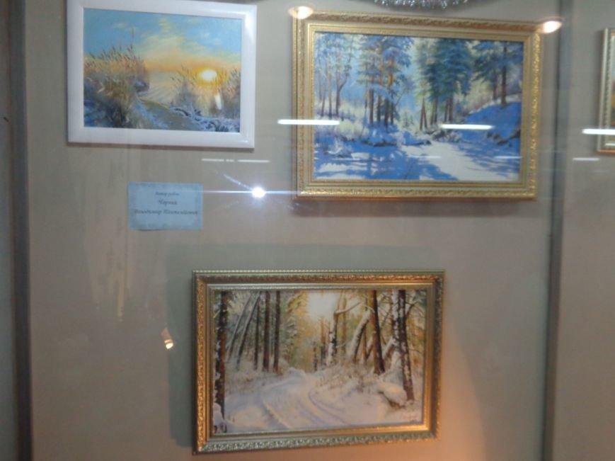 50 оттенков белого: в Красноармейском историческом музее представили зиму в работах местных художников (фото) - фото 4