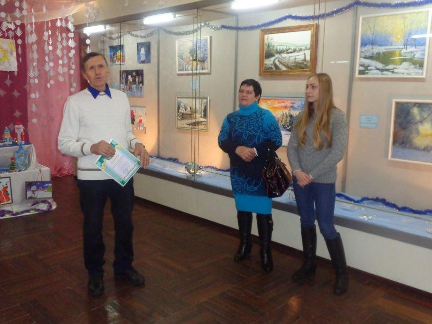 50 оттенков белого: в Красноармейском историческом музее представили зиму в работах местных художников (фото) - фото 3