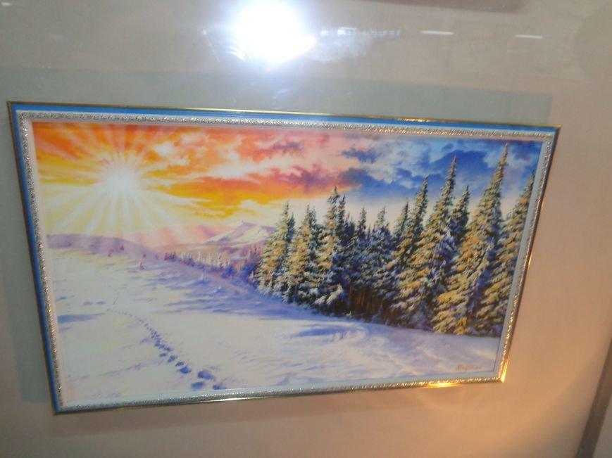 50 оттенков белого: в Красноармейском историческом музее представили зиму в работах местных художников (фото) - фото 6