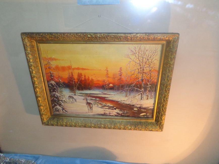 50 оттенков белого: в Красноармейском историческом музее представили зиму в работах местных художников (фото) - фото 9