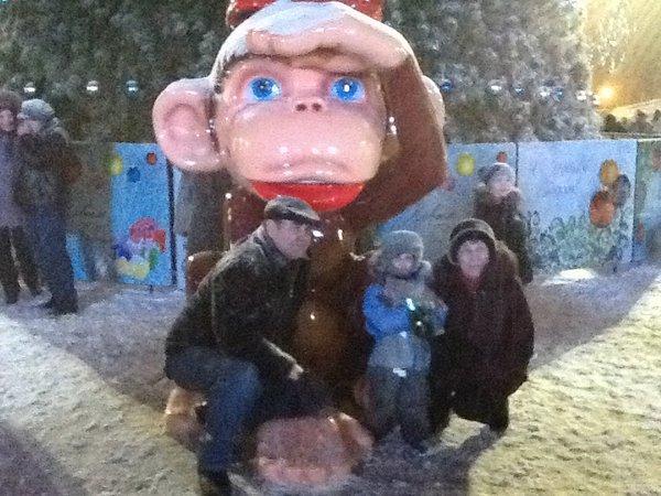 Какой нас встретит площадь Ленина в Новый год: фото (фото) - фото 1