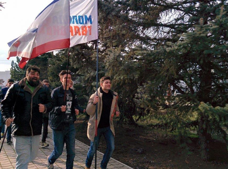 Крымские студенты устроили флеш-моб в поддержку российских легкоатлетов (ФОТО) (фото) - фото 3
