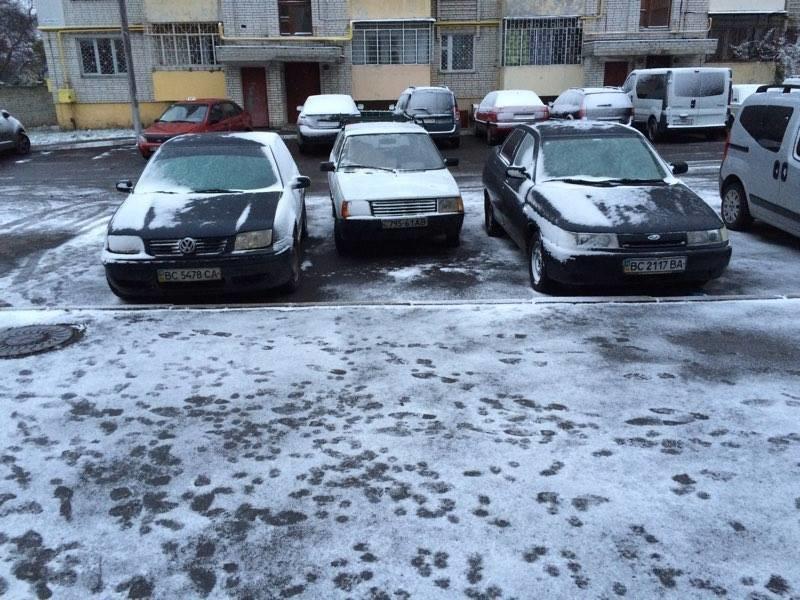 Львів засипало снігом (ФОТО), фото-1