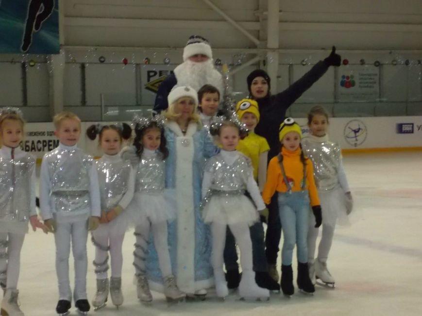 На Ледовой арене устроили новогодние праздники для юных криворожских спортсменов (ФОТО) (фото) - фото 1